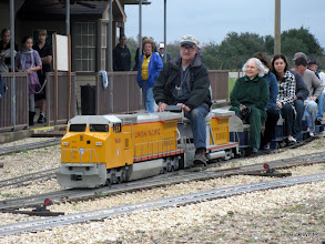 Photo: Ron Pasley, engineer.   HALS Run Day 2009-1121