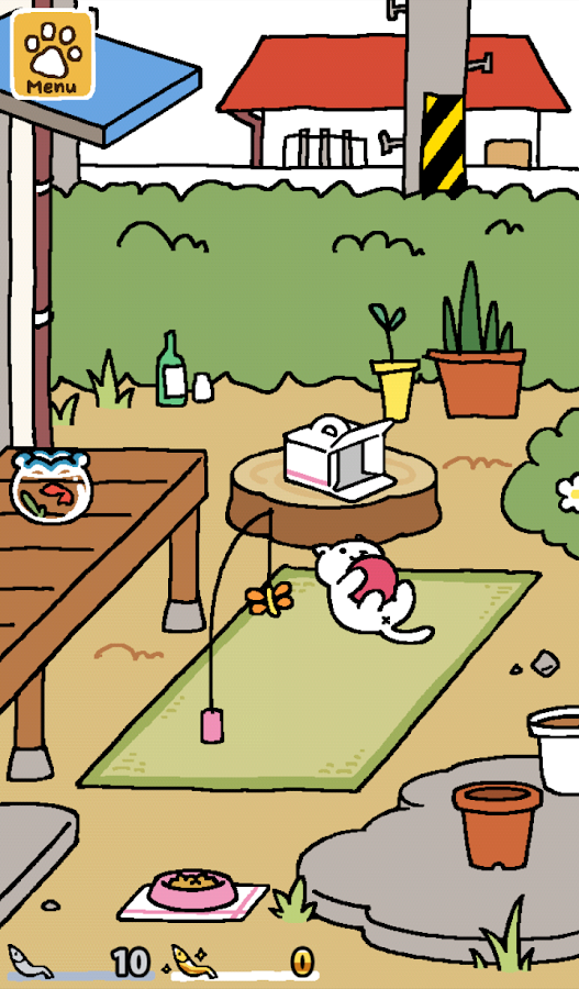 Neko Atsume: Kitty Collector- screenshot
