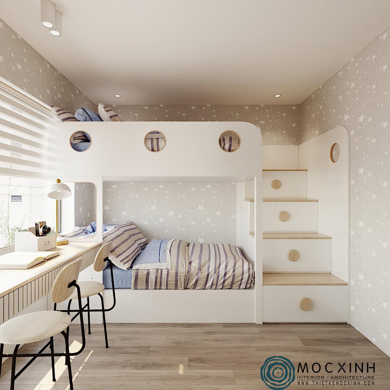 Phòng ngủ trẻ em đầy tinh tế