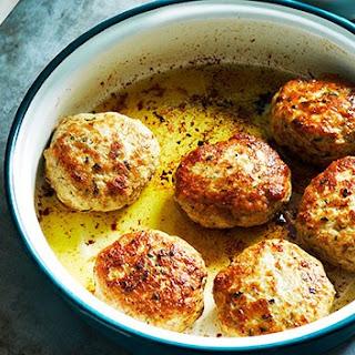 Lemon Chicken Rissoles.