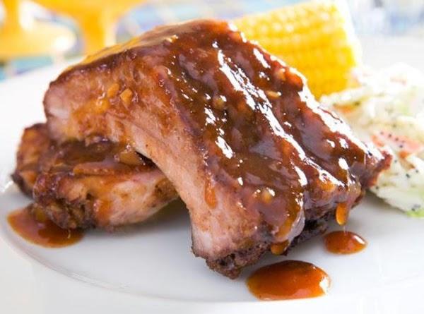 Pork Ribs W/mango Barbecue Sauce Recipe