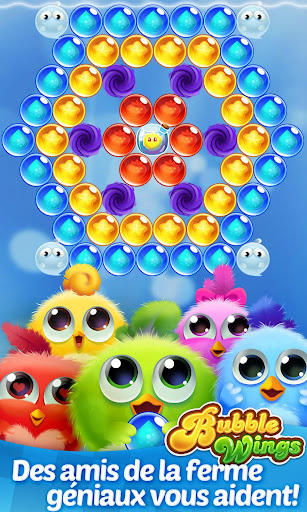 Bubble Wings: offline bubble shooter games  APK MOD (Astuce) screenshots 4