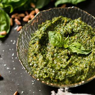 Traditional Pesto From Scratch 🍃 gluten free, keto & paleo.