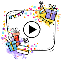 Birthday Video Maker - Photo Slideshow With Music icon