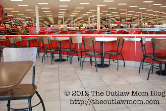 Photo: ...and ate in the huge, clean food court!
