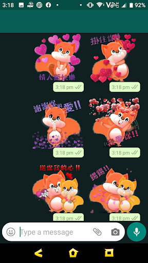 2020 Valentine's Day - Year of Mouse Sticker ss1