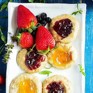 Thumbprint Cookies (Gluten-Free Vegan) Recipe