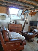 Photo: Appartement 1 - La vieille charpente du salon
