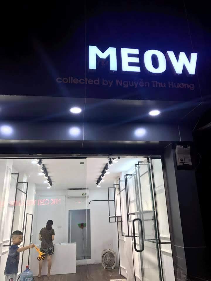 thiết kế shop thời trang nữ meow 4