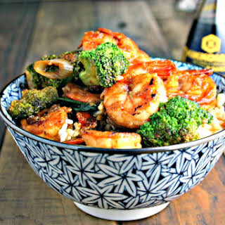 Shrimp Broccoli Stir-Fry.