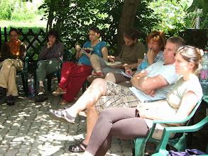 Photo: eszünk, iszunk, pihenünk, tanulunk, elmélyülünk egyszerre https://www.facebook.com/reginakertgodollo