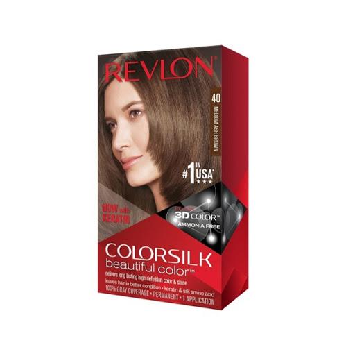 tinte revlon color silk castano med cobrizo 42