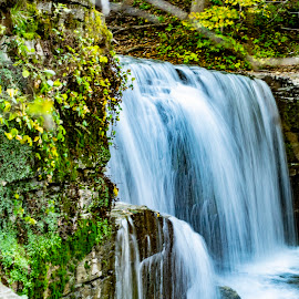 Nature Harmonized by Jennifer Schmidt - Landscapes Waterscapes ( landscape photography, cascading waterfall, minnesota, waterscape, waterfall, water,  )