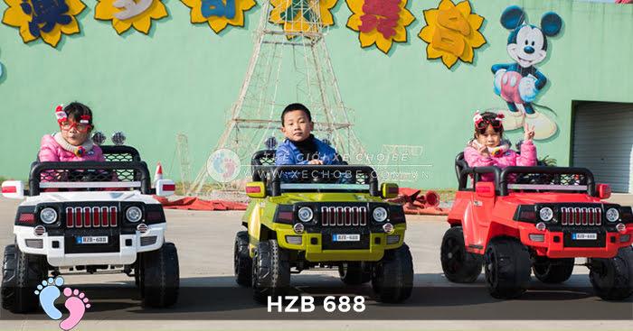 Xe ô tô điện cho bé Jeep HZB-688 1