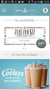 Caribou Coffee- screenshot thumbnail