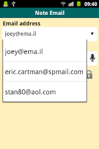 Note Email PRO screenshot 2