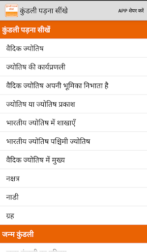 Learn Kundli in HIndi