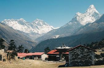 Photo: Panoramen in Tengboche