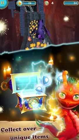 android Dragon Rise: Run 3D Game Screenshot 1