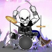 Rock Drums - Classic Band Game