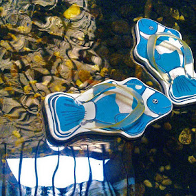 sandals were swimming by Krus Haryanto - Instagram & Mobile Other