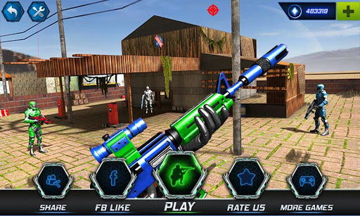 FPS Robot Shooter Strike: Anti-Terrorist Shooting 1.2 screenshots 1