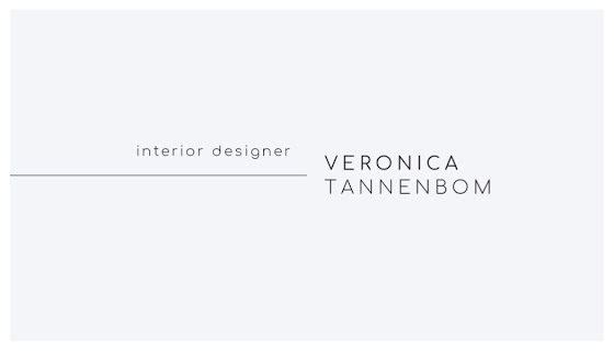 Tannenbom Modern Front - Business Card Template