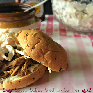 Spiced Rubbed Pulled Pork Sammies