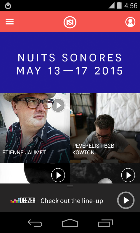 Nuits sonores Festival- screenshot
