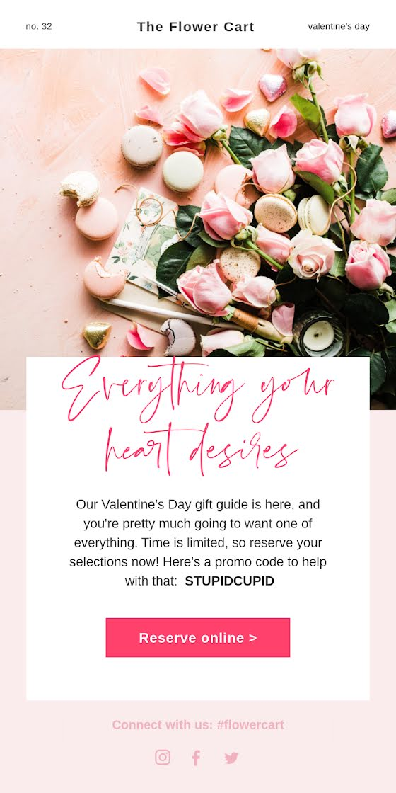 Your Heart Desires - Valentine's Day Template