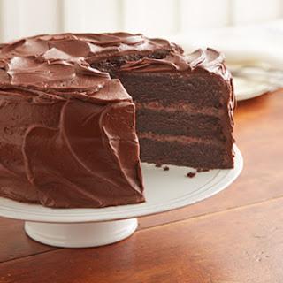 One Egg Chocolate Cake.