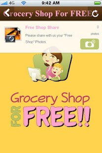 Grocery Shop For FREE- screenshot thumbnail