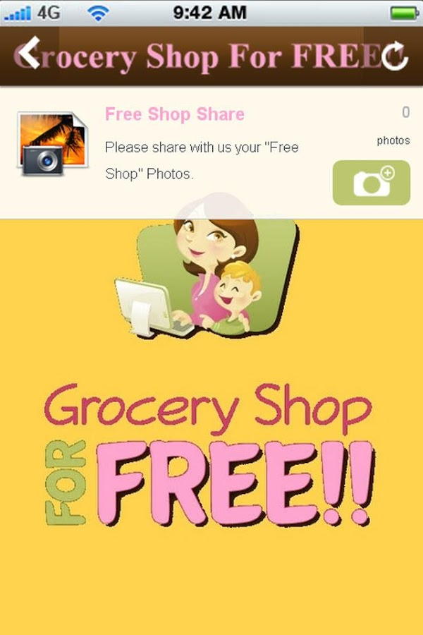 Grocery Shop For FREE- screenshot