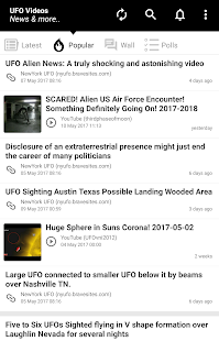 UFO Videos, News & more... - náhled