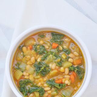 Kale White Bean Squash Soup