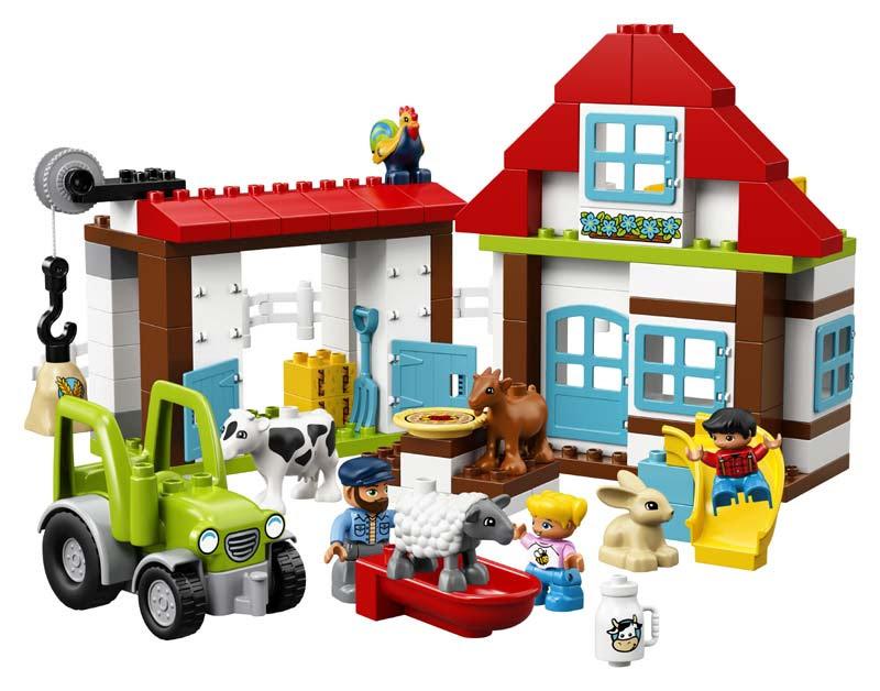 Contenido de Lego® 10869 Aventuras en la Granja