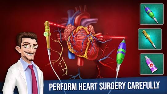 Open Heart Surgery New Games: Offline Doctor Games 6