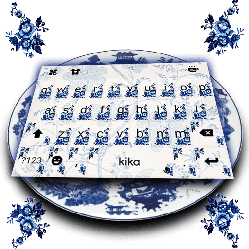 Elegant Porcelain Keyboard Theme (app)