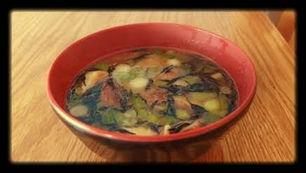 Red Miso Soup Recipe