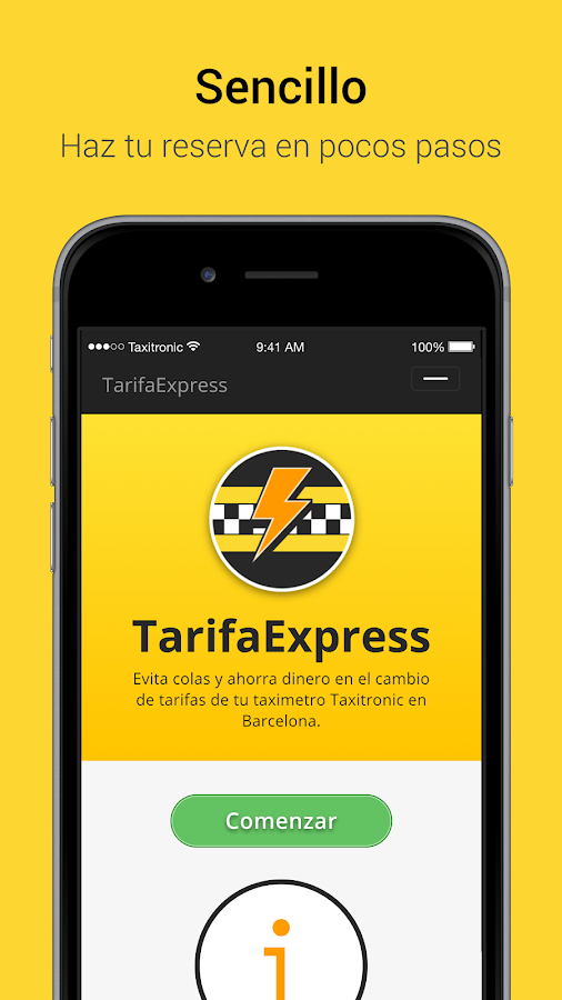 TarifaExpress- screenshot