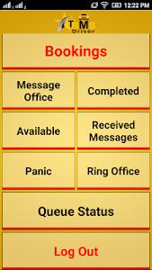 TBMS Driver dispatch software screenshot 1