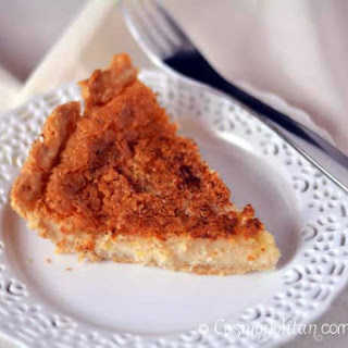 Dutch Sugar Cream Pie (Hoosier Pie)
