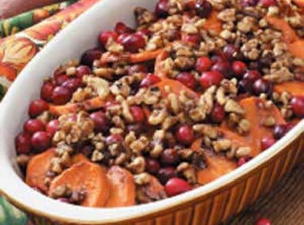 Sweet Potato Cranberry Casserole Recipe