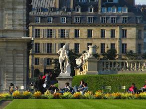 Photo: Thinking Man, Luxemborg Garden in Paris