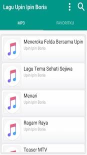 Lagu Upin Ipin Boria MP3 - náhled