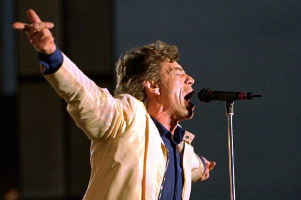 Mick Jagger - The Rolling Stones - Yabancı Rock Şarkıcıları