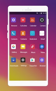 Theme for Oppo R9 HD - náhled