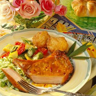 Plantation-Style Grilled Pork Chops.
