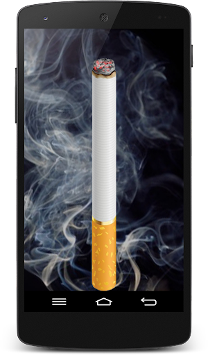 Smoking virtual cigarette (PRANK)  screenshots 2