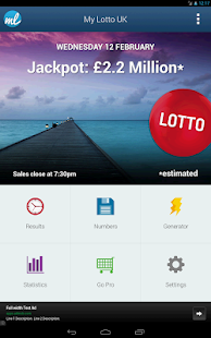 UK Lottery Results (UK lotto)- screenshot thumbnail